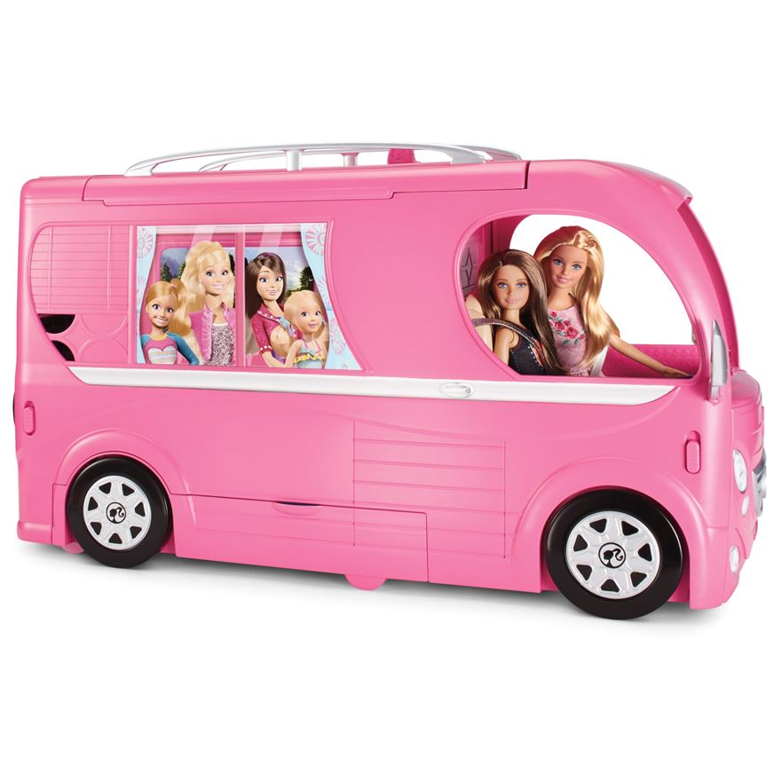 Barbie Pop Up Camper image-0