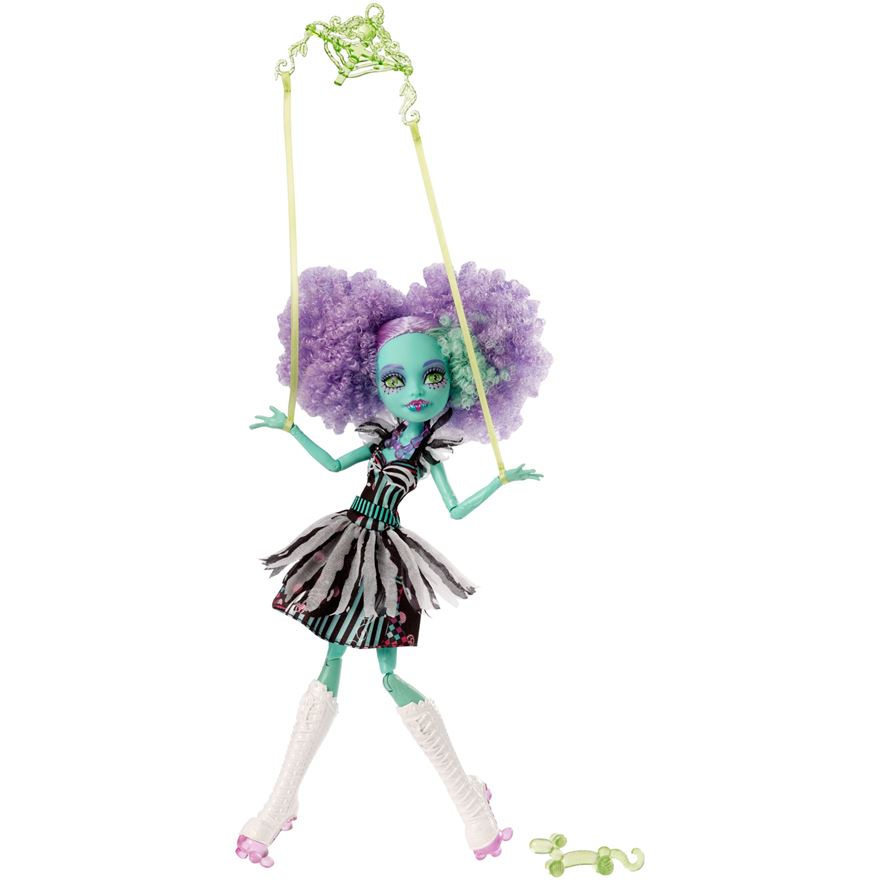 Monster High Freak Du Chic Honey Swamp Doll image-0