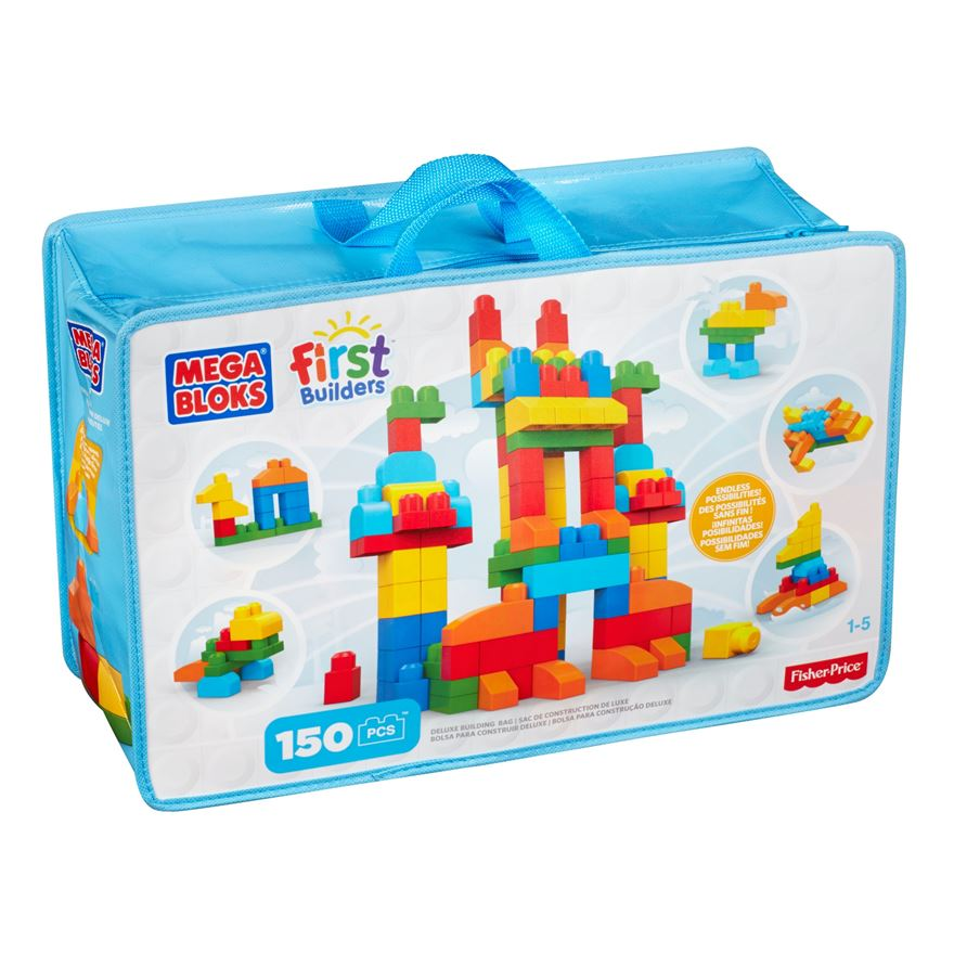 Mega Bloks First Builders Deluxe Building Bag image-0