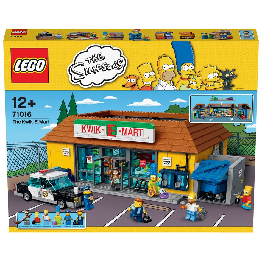 LEGO The Simpsons Kwik-E-Mart  71016 image-0