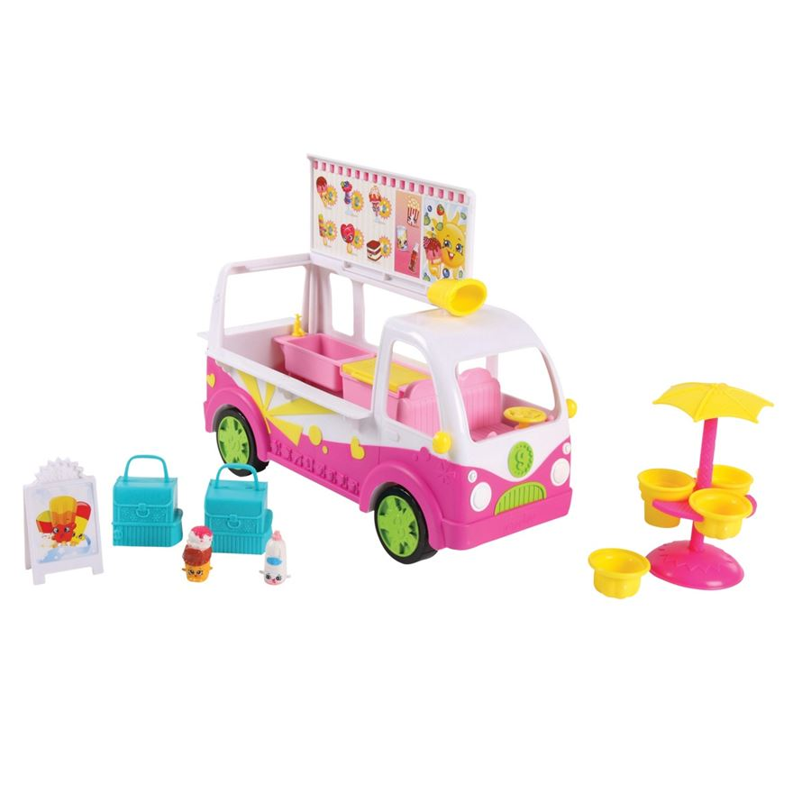 Shopkins Scoops Ice Cream Truck Playset image-0