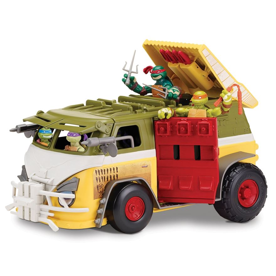 Teenage Mutant Ninja Turtles Party Wagon image-0