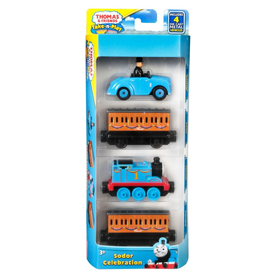 Thomas & Friends Take-N-Play Multipack Sodor Celebration image-0