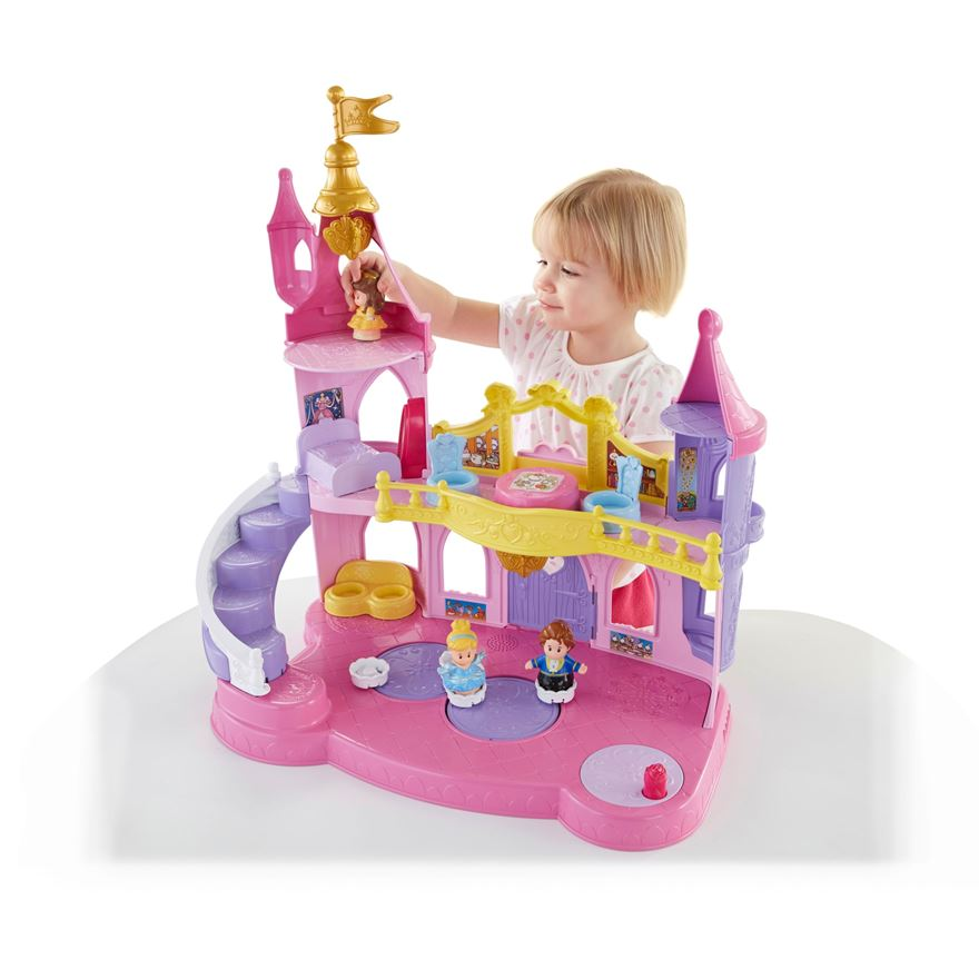 Little People Disney Princess Musical Dancing Palace image-0
