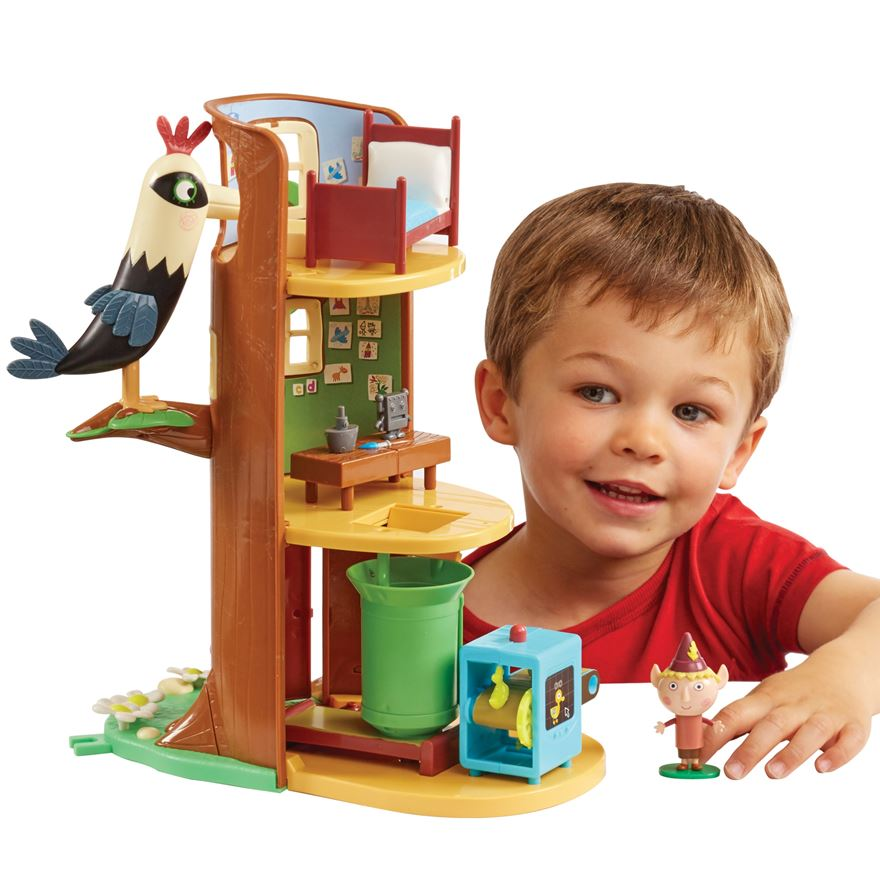 Ben & Holly's Elf Tree Play Set image-0