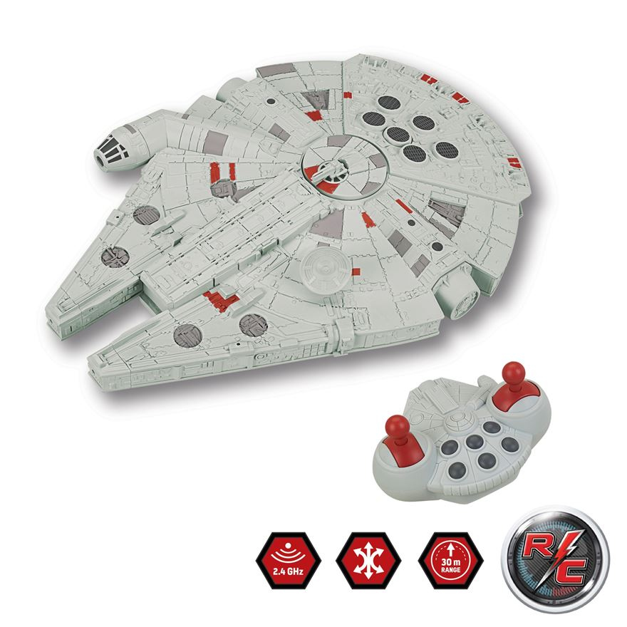 Star Wars Ground Millennium Falcon Radio Control Vehicle image-0