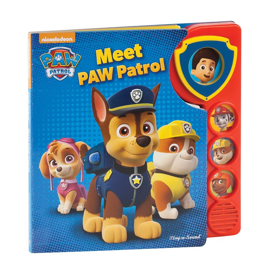 Nickelodeon Meet Paw Patrol Sound Book image-0