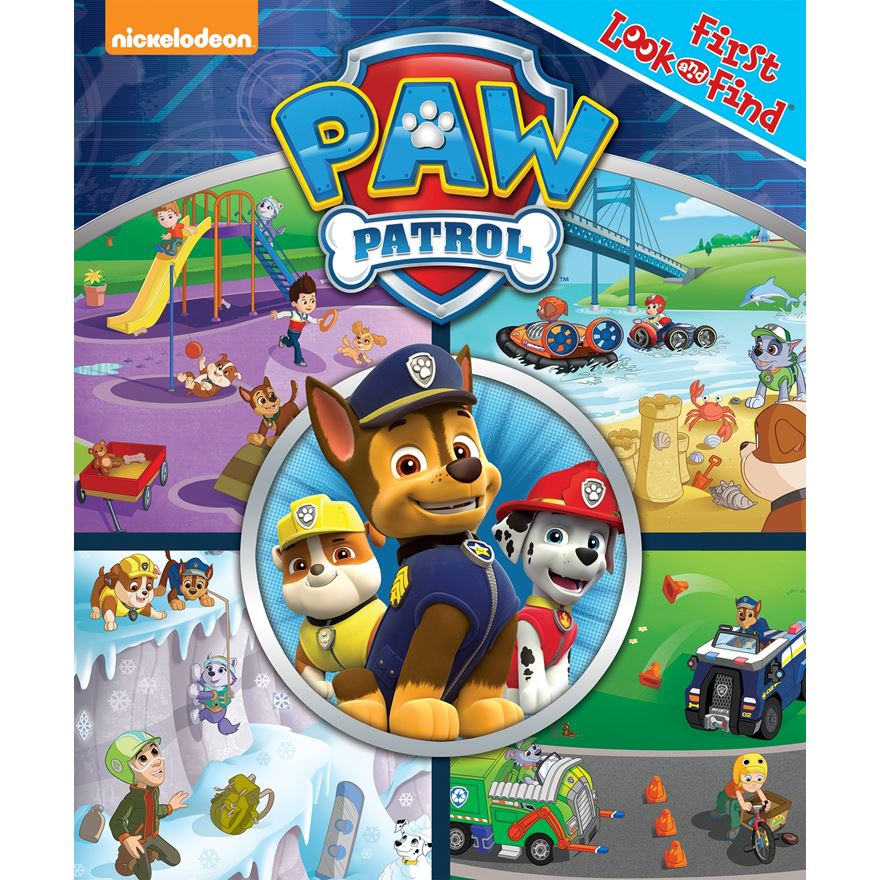 Paw Patrol My 1st Look & Find image-0