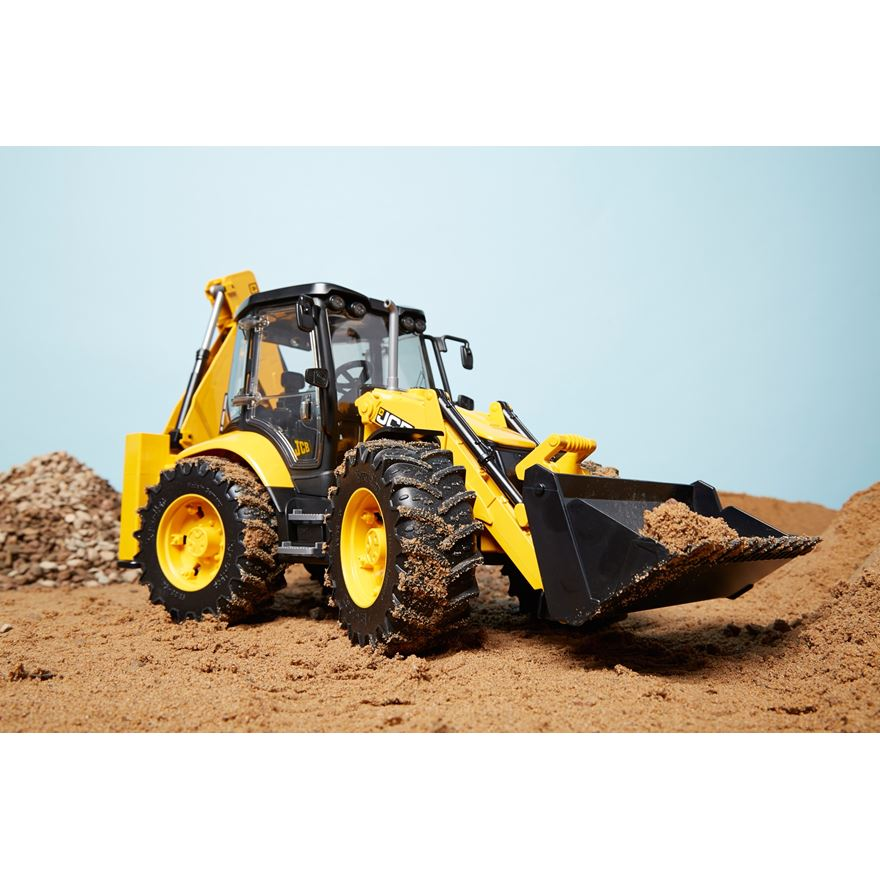 Bruder JCB 5CX Eco Backhoe Loader image-0