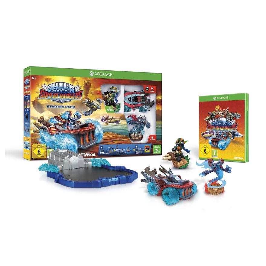 Skylanders Superchargers Starter Pack Xbox One image-0