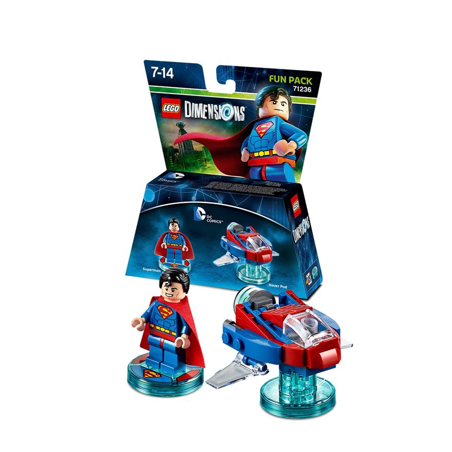 LEGO Dimensions Fun Pack: DC Superman image-0