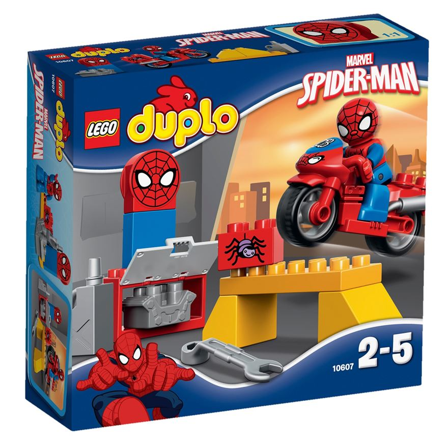 LEGO Duplo Spider-Man Web-Bike Workshop 10607 image-0