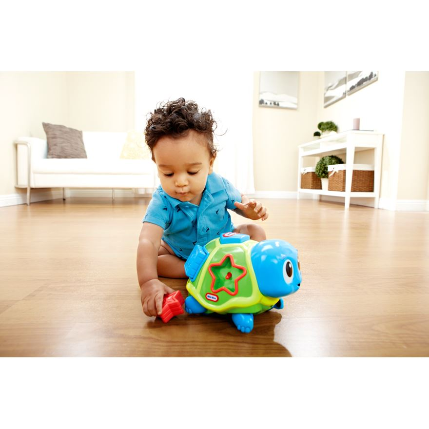 Little Tikes Crawl 'n Pop Turtle image-0