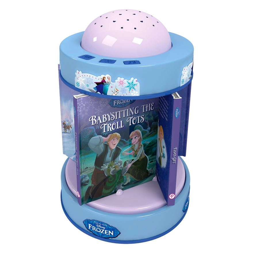 Disney Frozen Night Light Carousel image-0