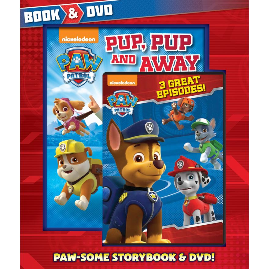 Paw Patrol Book and DVD