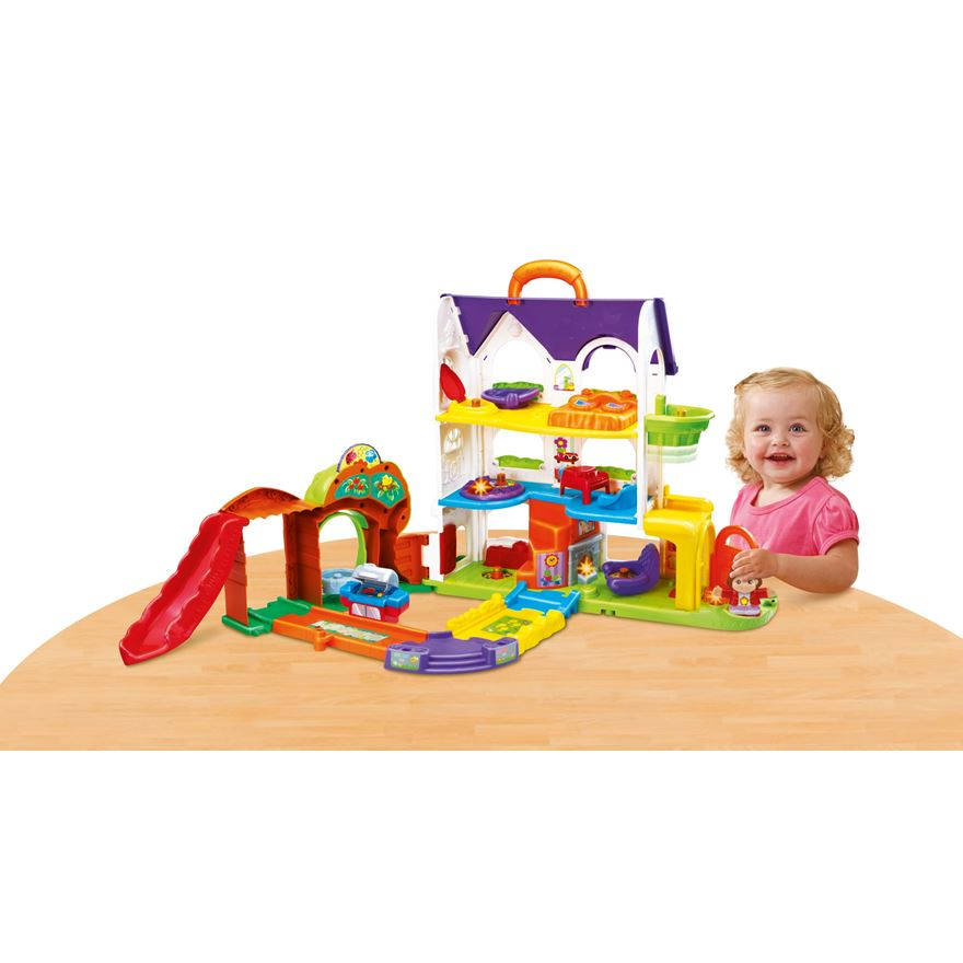 VTech Toot Toot Friends Busy Sounds Discovery House image-0