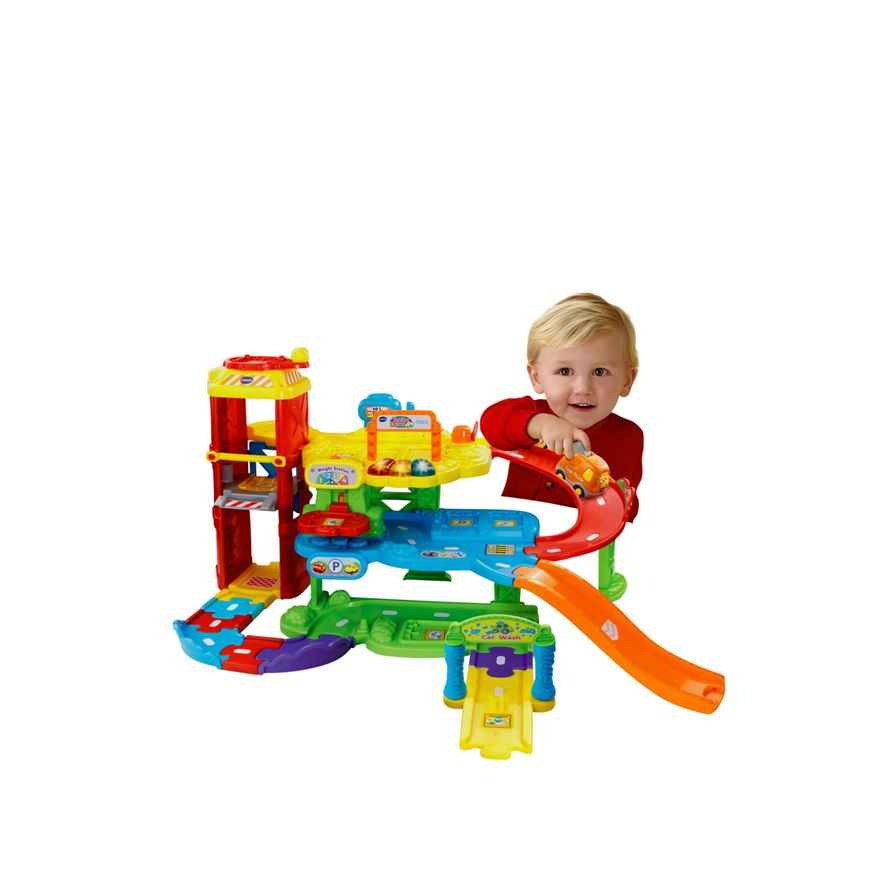 VTech Toot Toot Drivers New Garage image-0