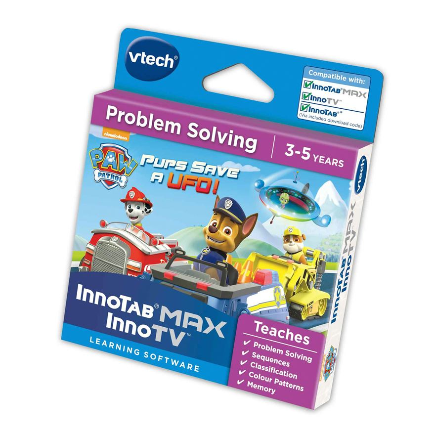 VTech Inno Tab Paw Patrol Game Pups save a UFO! image-0