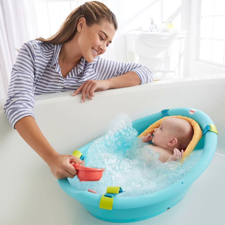 Fisher-Price Rinse and Grow Tub image-0