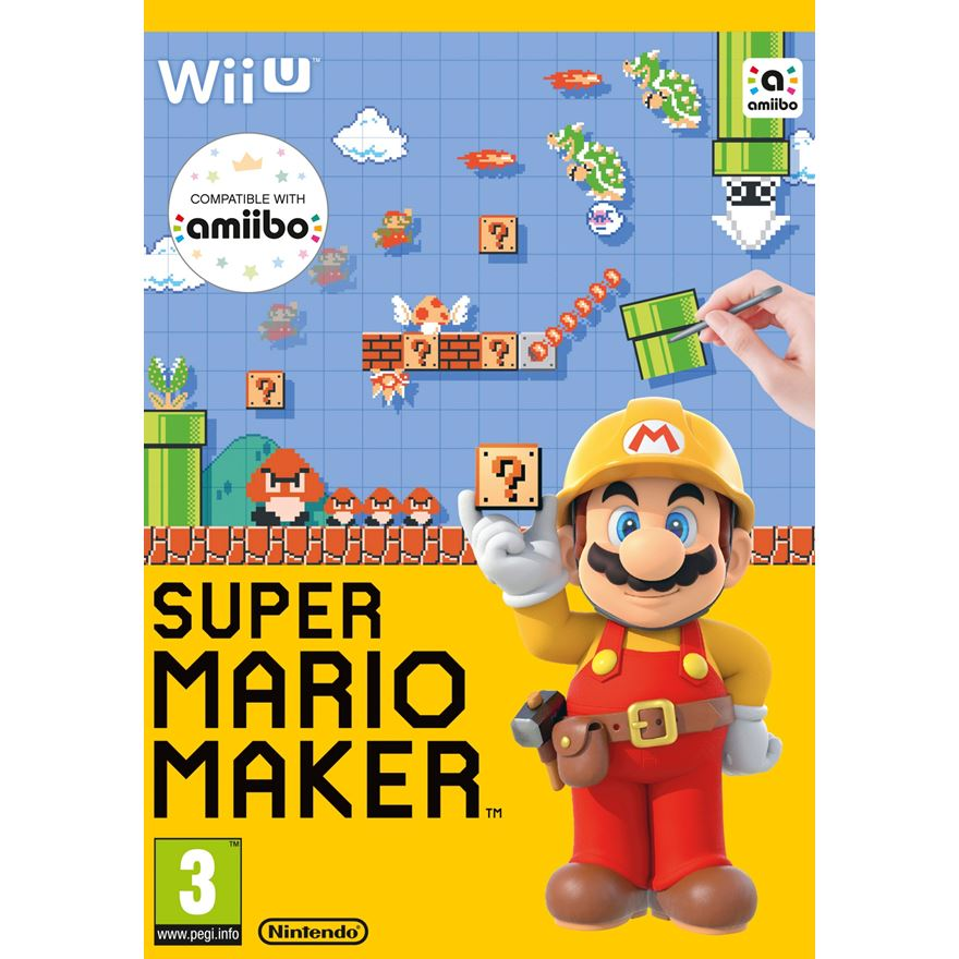 Super Mario Maker Wii U with Artbook image-0