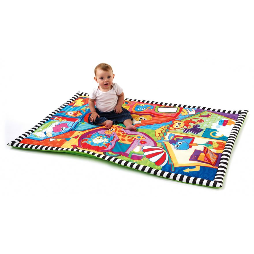 Playgro Happy Neighbourhood Jumbo Mat image-0