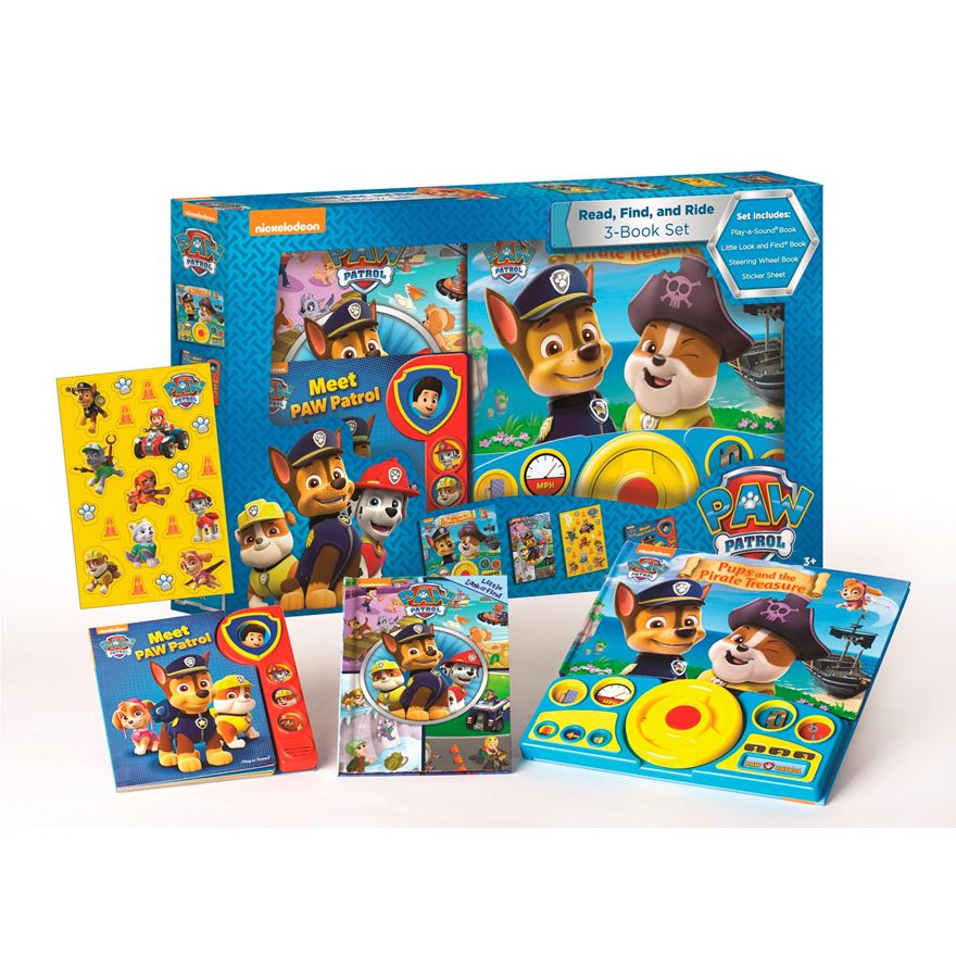 Paw Patrol Read, Find and Ride Box image-0
