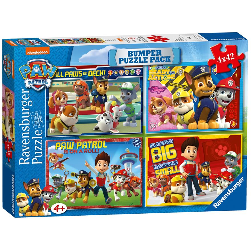 Paw Patrol Bumper Puzzle Pack image-0