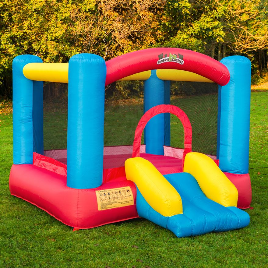 Bouncy Castle and Slide image-0