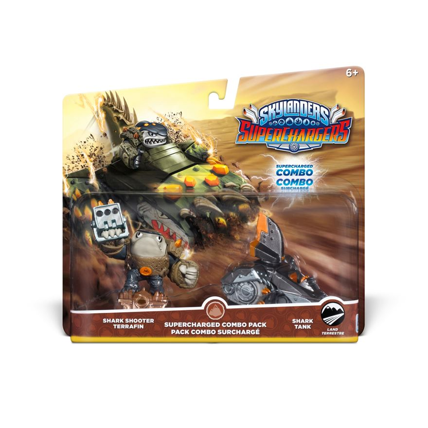 Skylanders SuperChargers SuperCharged Combo Pack: Earth