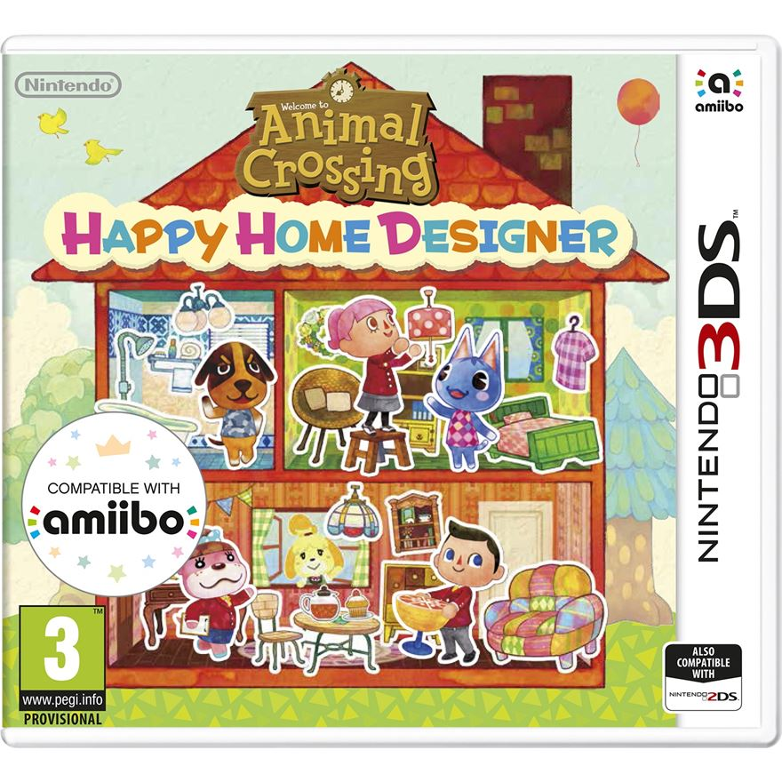 Animal Crossing Happy Home Designer + Amiibo Card 3DS image-0