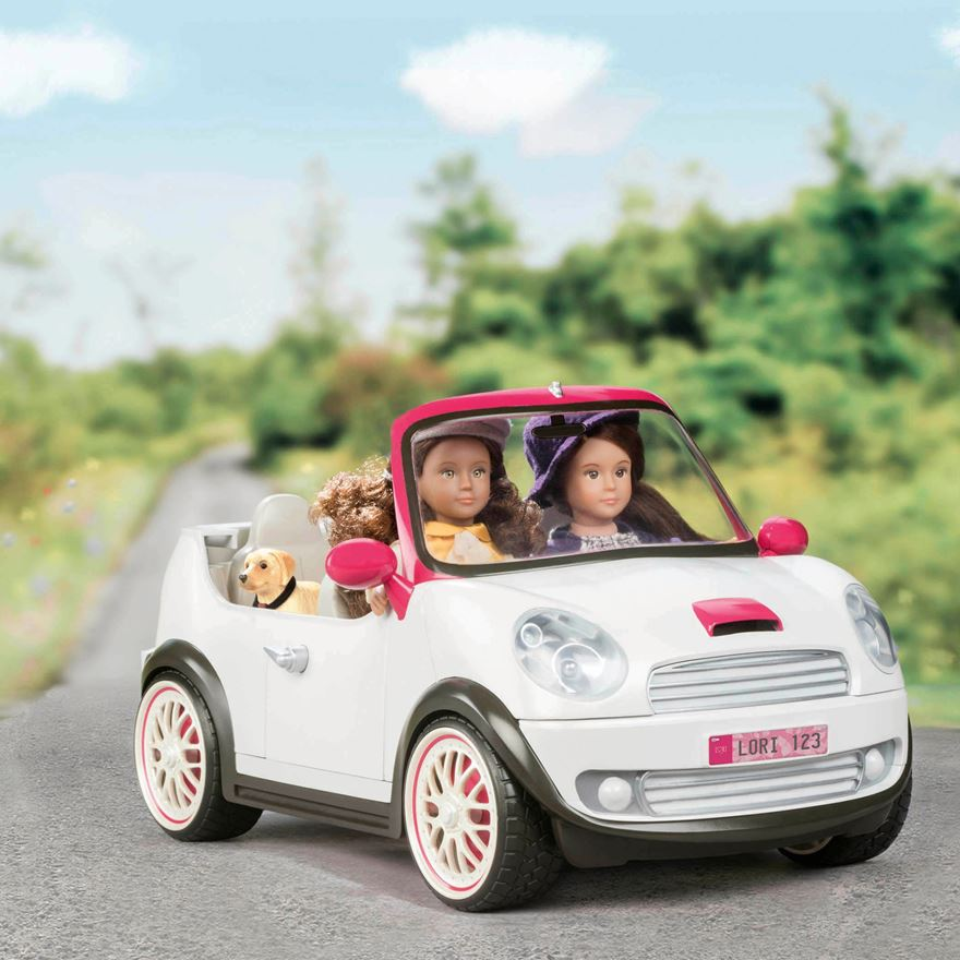 "6"" Lori Go Everywhere Convertible Car image-0"