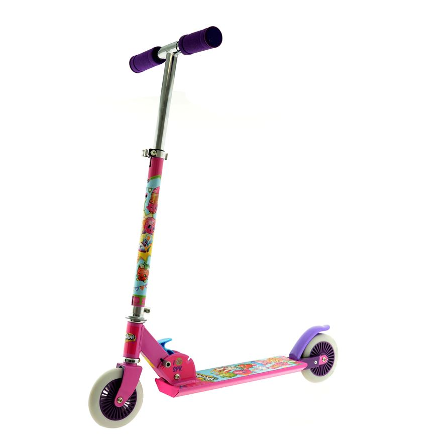 Shopkins Folding Inline Scooter image-0