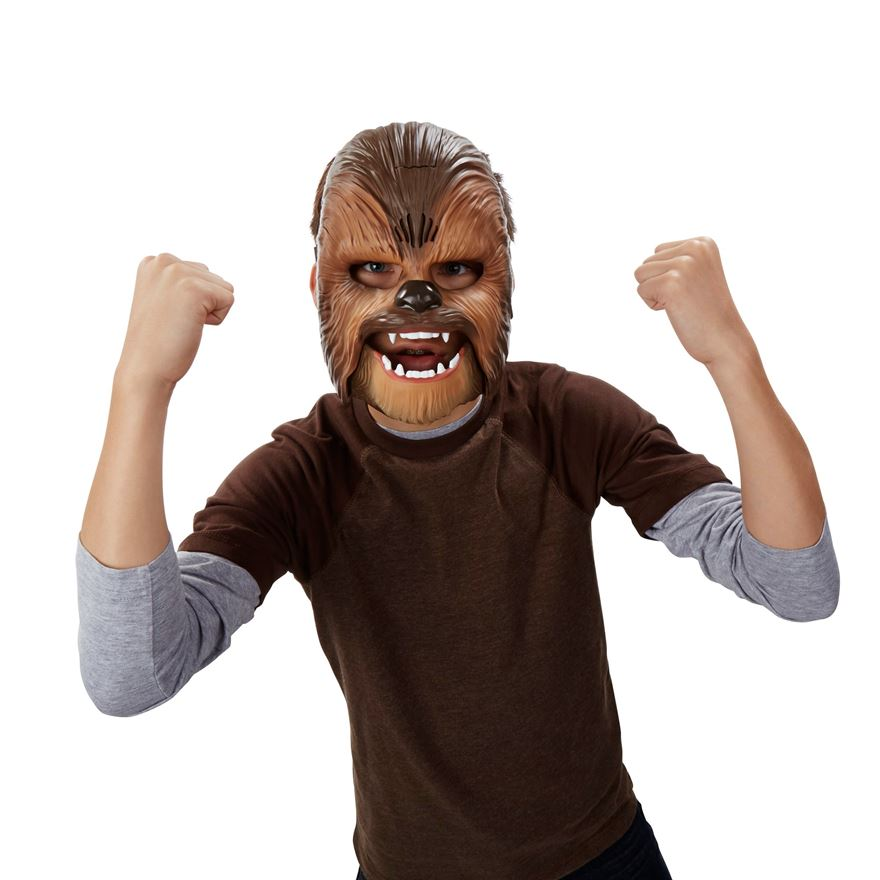 Star Wars The Force Awakens Chewbacca Electronic Mask image-0
