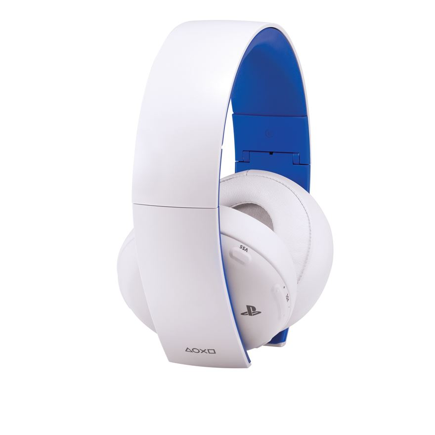 Sony PlayStation Wireless Stereo Headset 2.0 White image-0