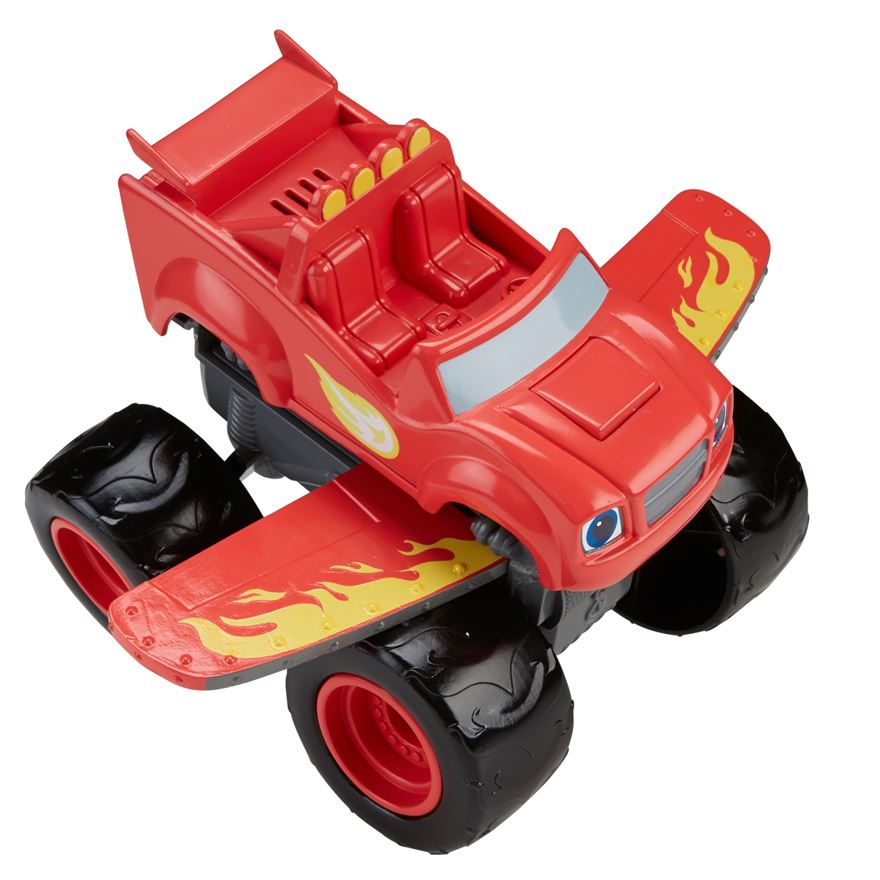 Blaze and the Monster Machines Transforming Blaze Jet image-0