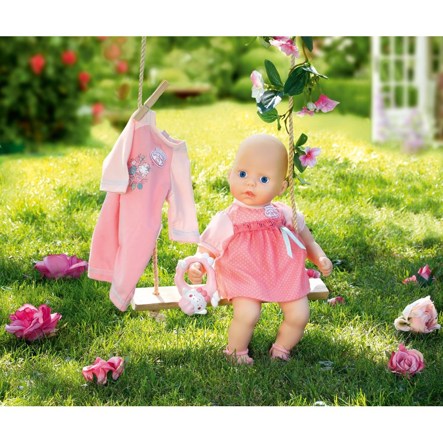 My First Baby Annabell Rose Doll with Romper image-0