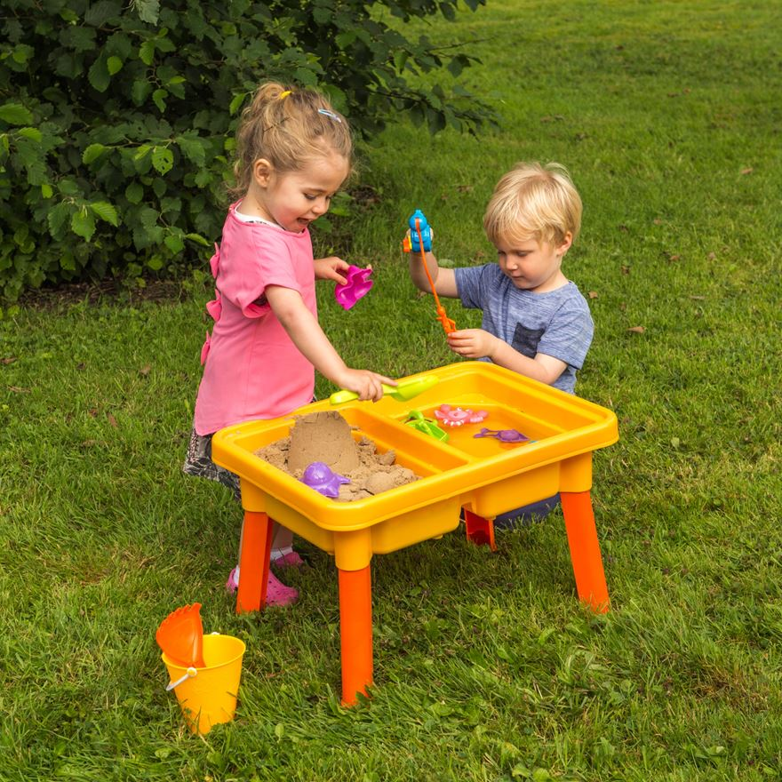 Sand and Water Fishing Table image-0