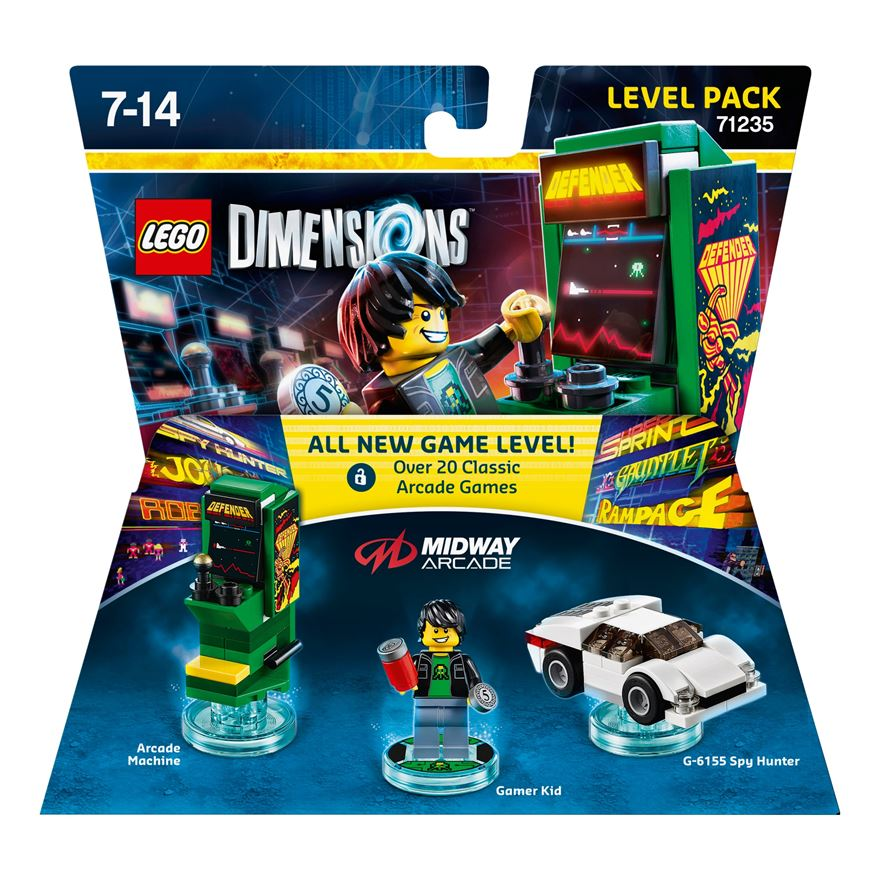 LEGO Dimensions Level Pack: Midway Retro Gamer image-0