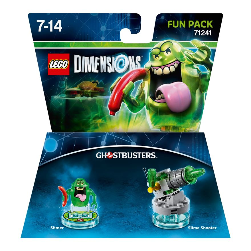 LEGO Dimensions Fun Pack: Ghostbusters Slimer image-0