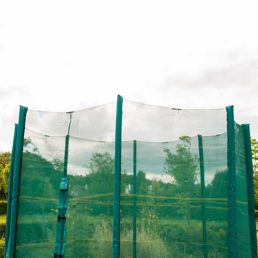 8 ft Trampoline Enclosure Replacement Net image-0