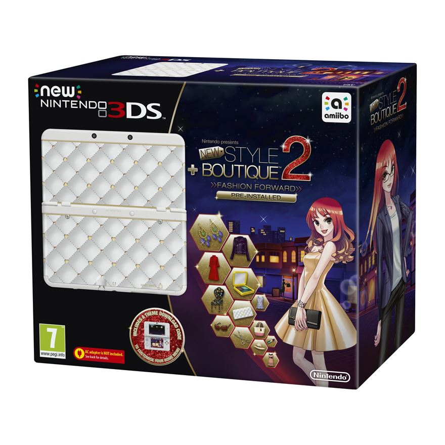 New Nintendo 3DS Console + New Style Boutique 2 image-0