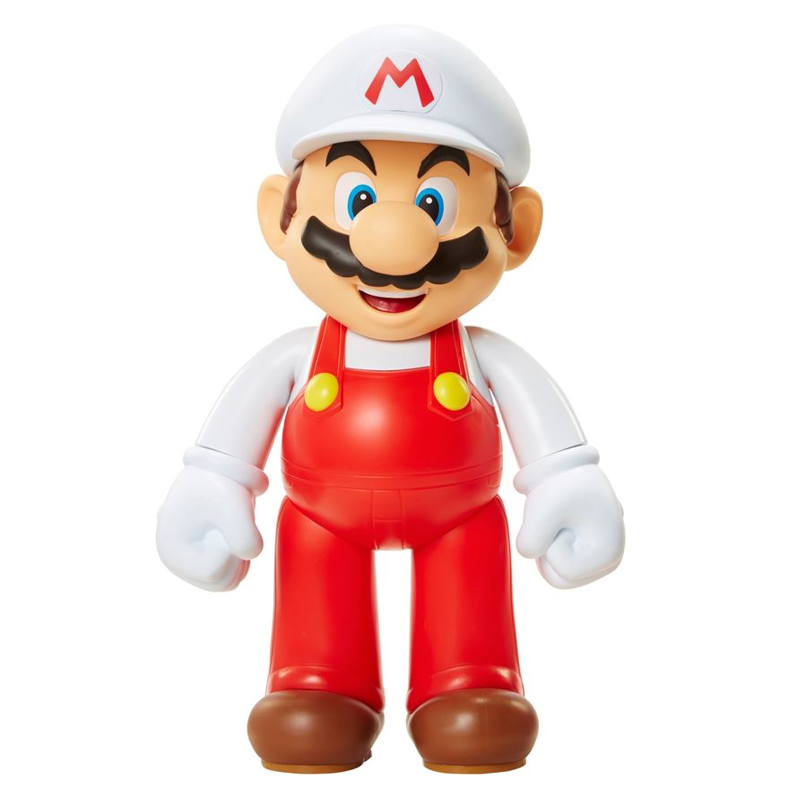 "Super Mario Fire 20"" Figure image-0"