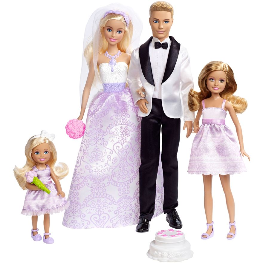 Barbie Wedding Gift Set image-0