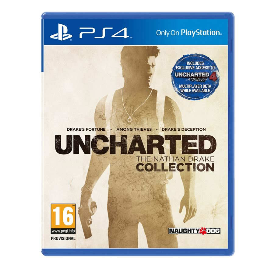 Preplayed Uncharted The Nathan Drake Collection PS4