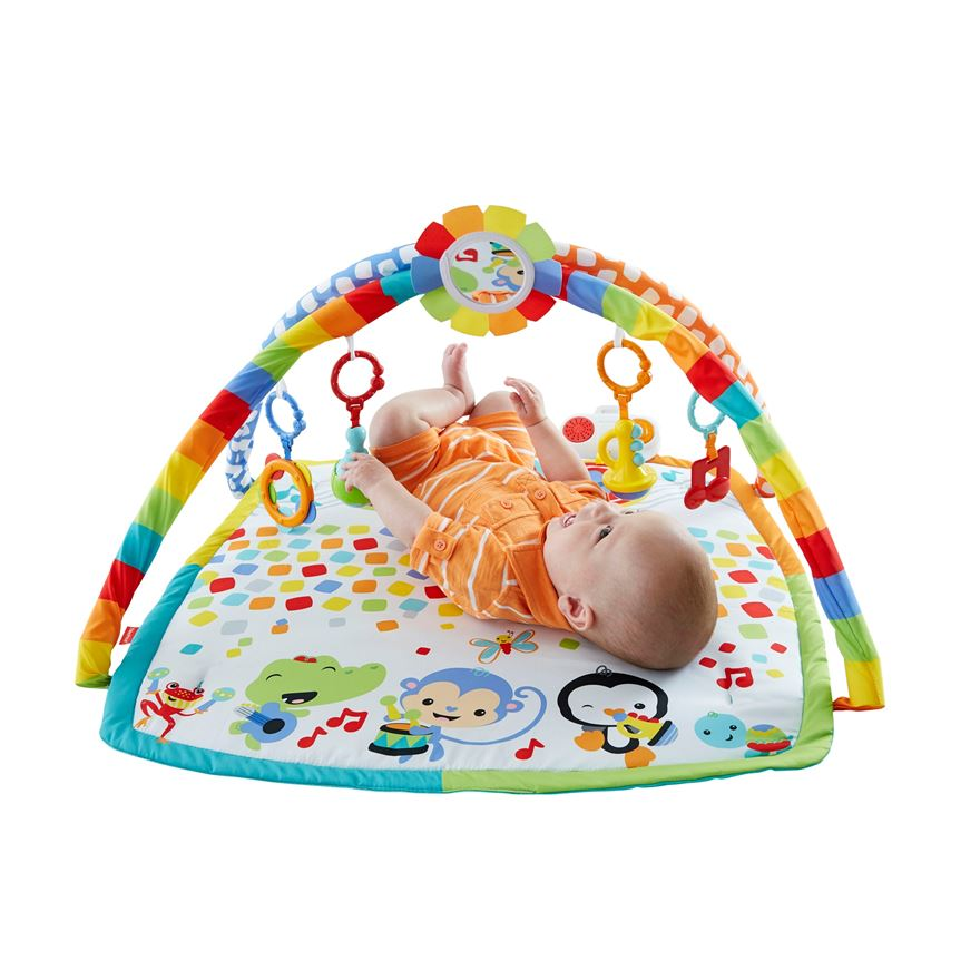 Fisher-Price Baby's Bandstand Play Gym image-0