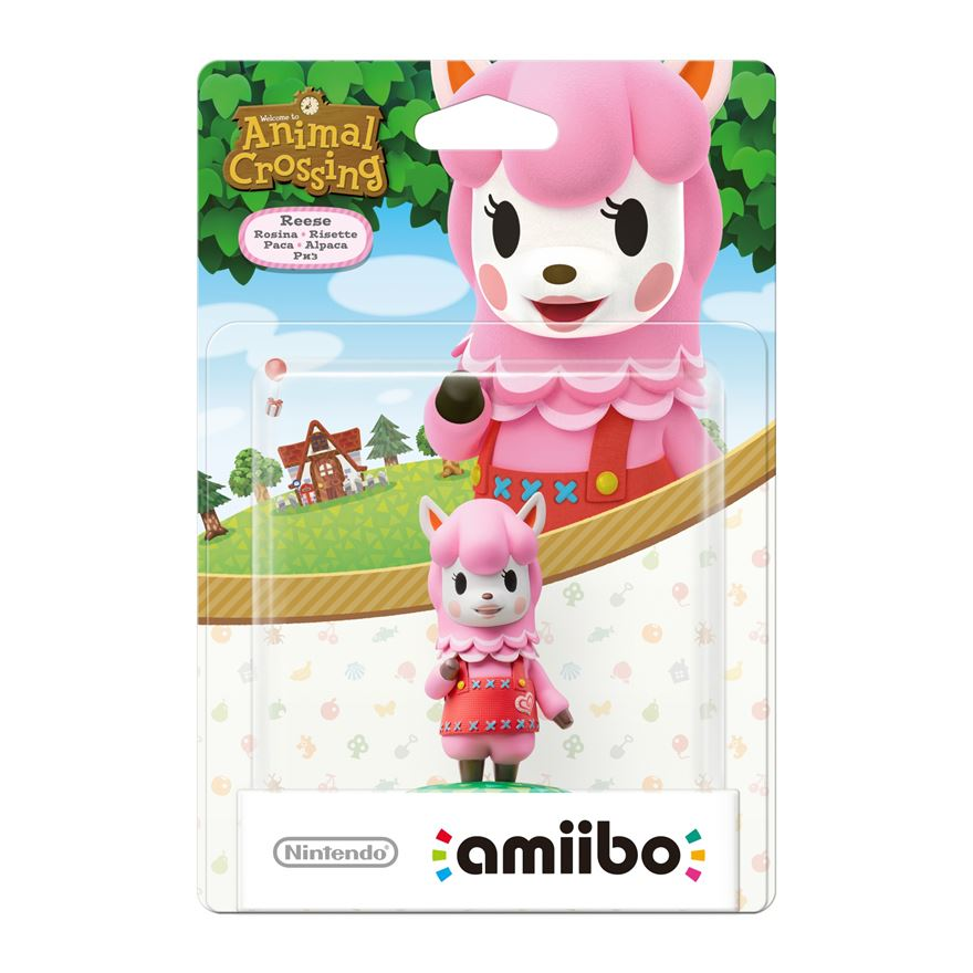 Nintendo amiibo Animal Crossing series: Reese