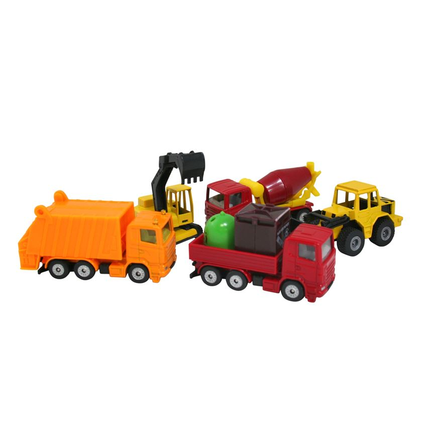 Siku 1:87 Gift Set - 5 Trucks image-0