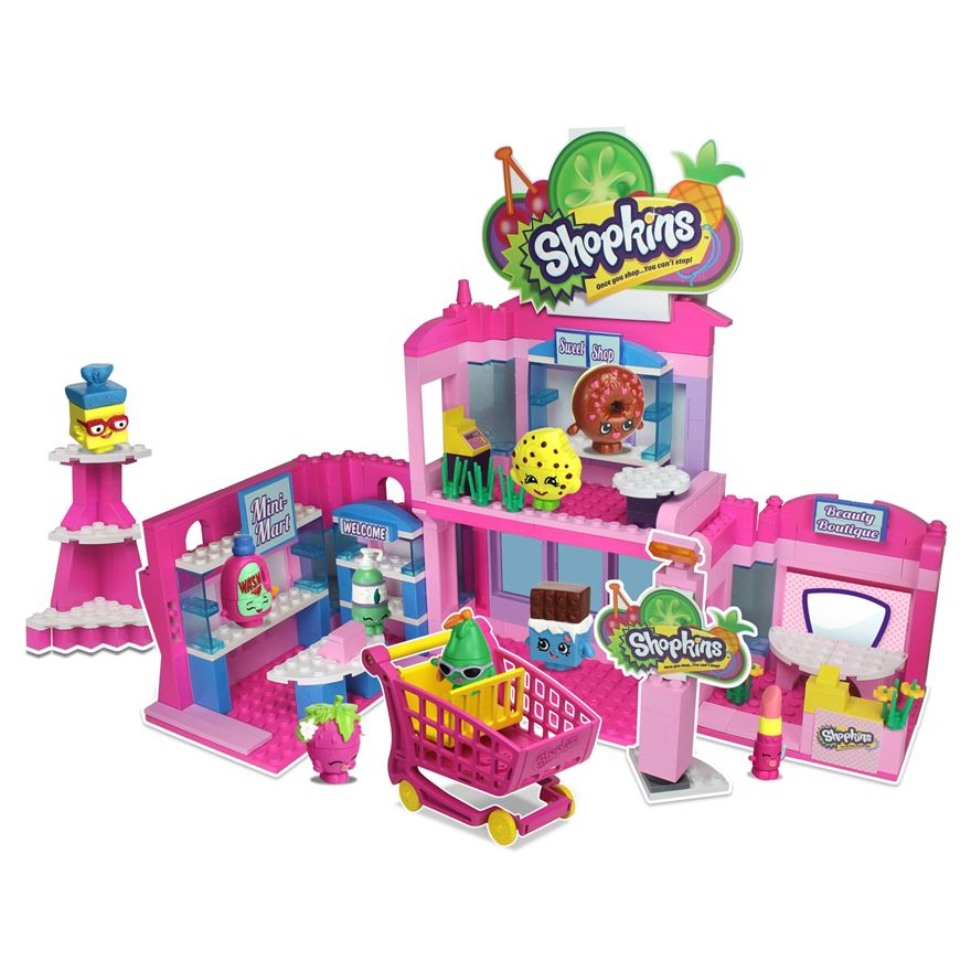 Shopkins Kinstruction Deluxe Supermarket Set
