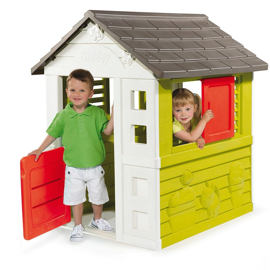 Smoby Nature Play House image-0