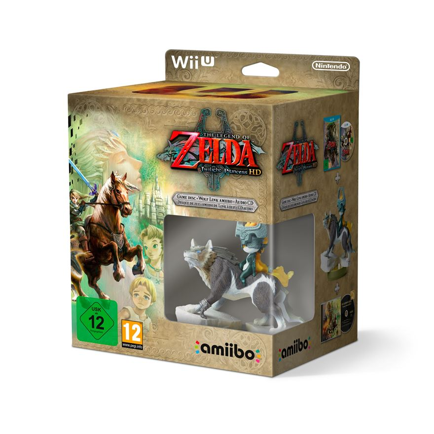 The Legend of Zelda: Twilight Princess HD with amiibo + Soundtrack CD image-0